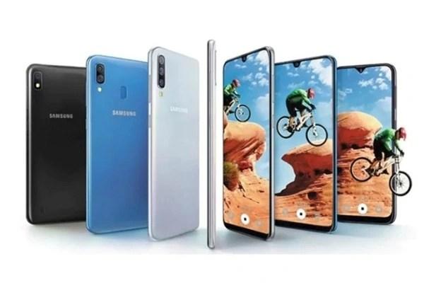 Samsung Galaxy A Series 2019 Colours
