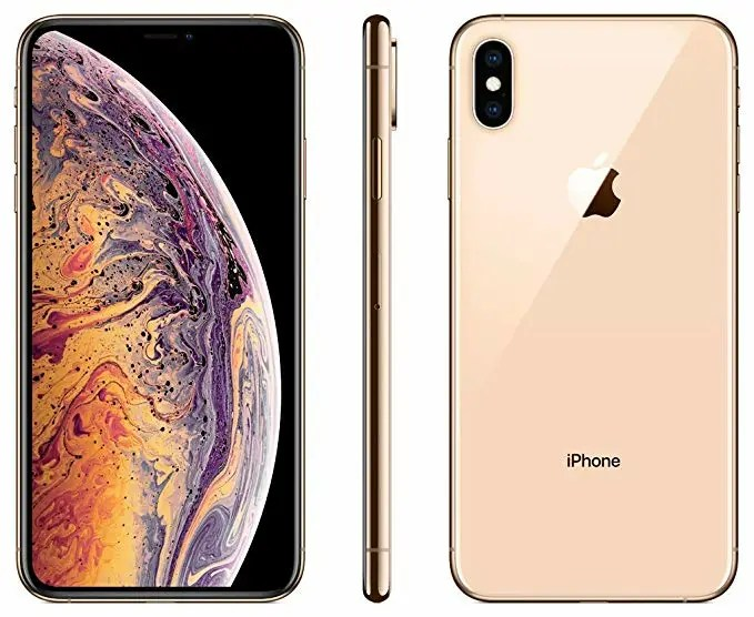 iPhone XS Max Front and Back