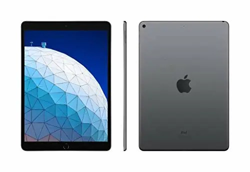 iPad Air 10.5 side front and back profile