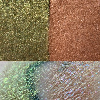 Colourpop MISS + BLISS Super Shock Shadow Swatch and Photo