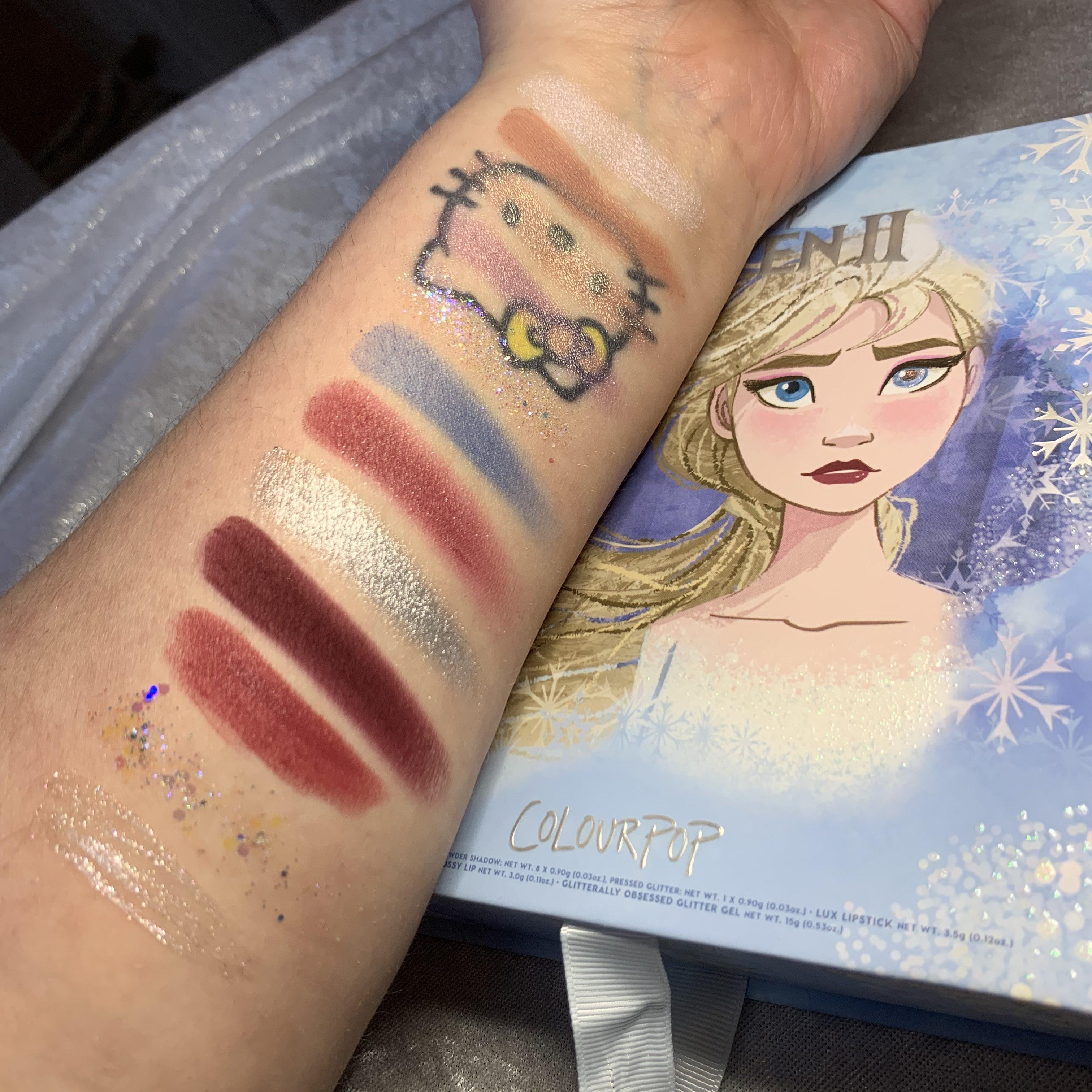 Colourpop x Frozen 2 Elsa Collection