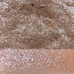 Colourpop FROG Super Shock Shadow swatch and photo