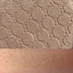 Colourpop ACORN Super Shock Shadow swatch and photo