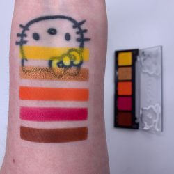 COLOURPOP MAKE IT FEARLESS (MAKE IT BLACK) eye shadow palette swatches