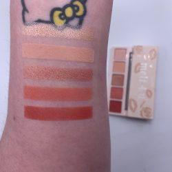 COLOURPOP MELT 4 U eye shadow palette swatches