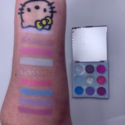 Colourpop IN A TRANCE palette and swatches