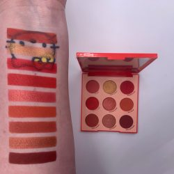 Colourpop MAIN SQUEEZE palette and swatches