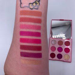 Colourpop OOH LA LA! palette and swatches