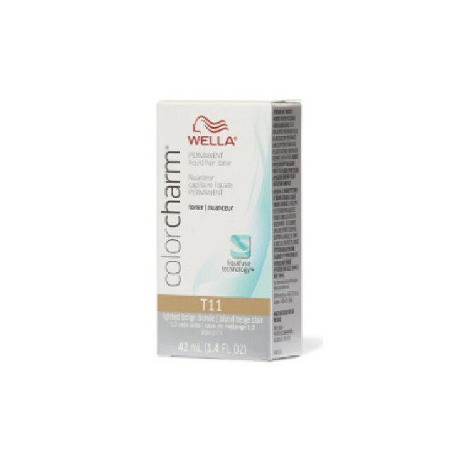 Wella Color Charm T11 Lightest Beige Blonde Hair Toner