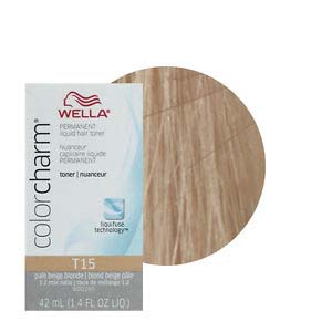 Wella Hair Color Charm Baroness Beige T15