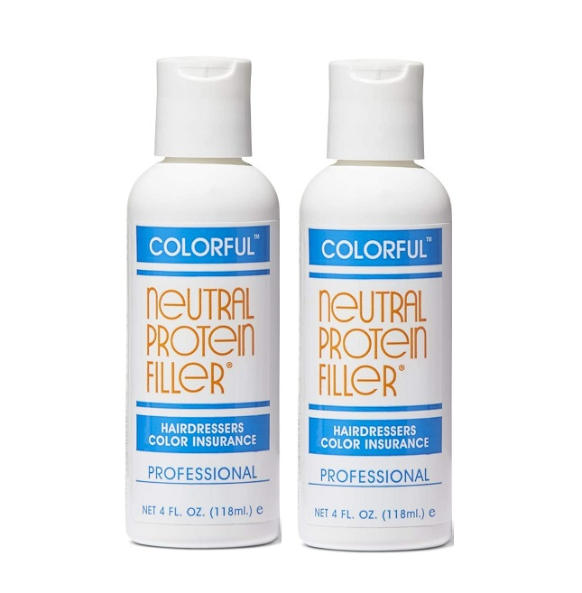 Colourful Neutral Protein Filler 118ml. - 2packs
