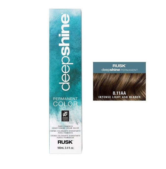 Rusk Deepshine Permanent Color 8.11AA Intense Light Ash Blonde