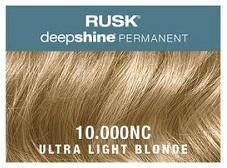 Rusk Deepshine Permanent Colour 10.000NC Ultra Light Blonde
