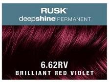 Rusk Deepshine Permanent Colour 6.62RV Brilliant Red Violet