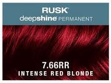 Rusk Deepshine Permanent Colour 7.66RR Intense Red Blonde