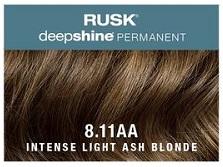 Rusk Deepshine Permanent Colour 8.11AA Intense Light Ash Blonde
