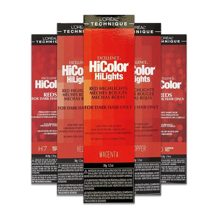 L'Oreal HiColor Permanent Hair Colour