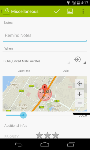 """""""Location Based"""" Reminders (Donate Feature)"""