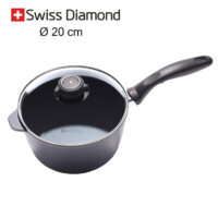 casseruola alta Swiss Diamond 20 cm