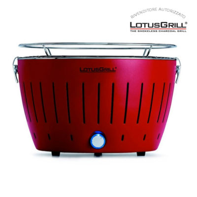 Lotus grill rosso