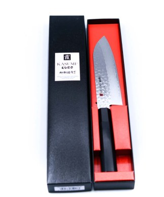 Kasumi KURO Santoku 17cm-coltellipersonalizzati.com