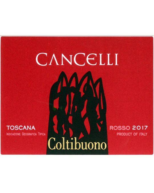Cancelli Toscana 2017 etichetetta