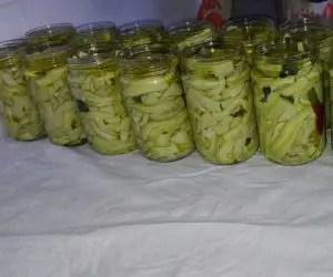 La ricetta delle zucchine sottolio - zucchine in vaso riempite d'olio