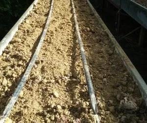 teli di juta per pacciamatura biodegradabile orto-bancale rialzato