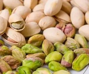 Alimenti che contengono calcio: pistacchi