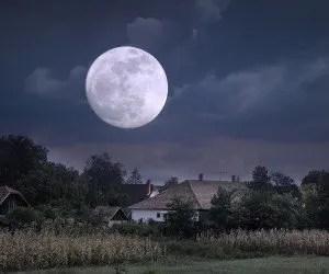 Luna piena del mese di giugno
