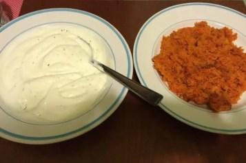 Ricetta con carote e yogurt