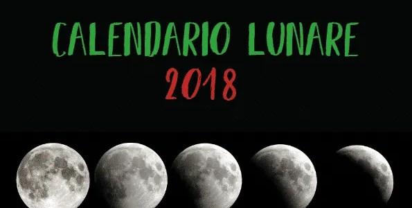 Il calendario lunare 2018. Le semine e i trapianti nell'orto seguendo la luna