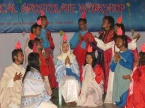 Praying through drama for that the New Pentecost through their country