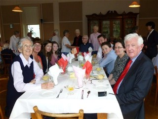 Sister Mary and the O'Dea family and friends
