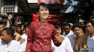 Suu Kyi: Symbol of democracy with dignity