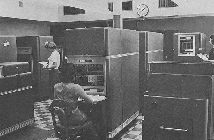Image result for IBM 650 Magnetic Drum Calculator 1962