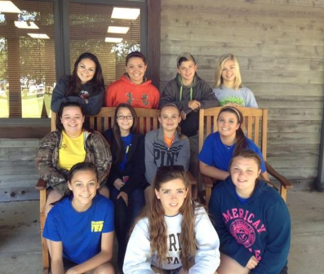 Hardinsburg Ky Photo By Jessica Simpson Adair County Students Attending The Ffa Leadership Camp In Hardinsburg Kyfront Row