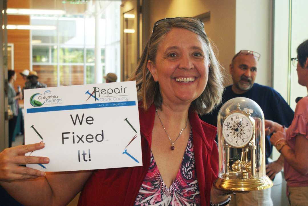 We fixed it at Repair Clark County