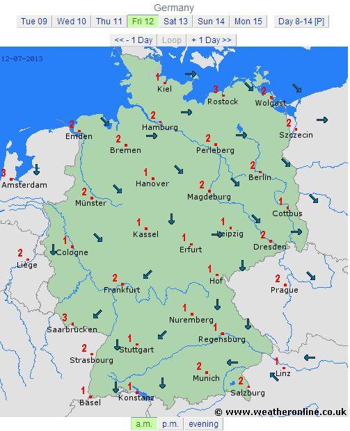 germania vineri 12 iulie 2013 directie vant