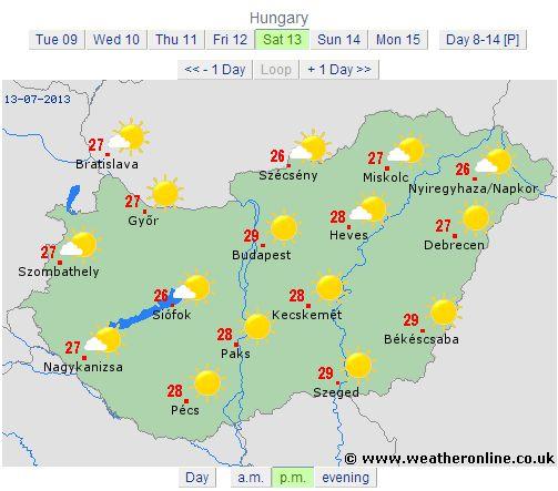 ungaria 13 iulie 2013 vremea dupamasa