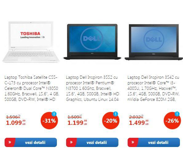 promotie laptopuri