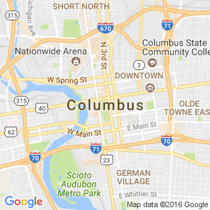 Dumpster Rental Columbus Ohio Map