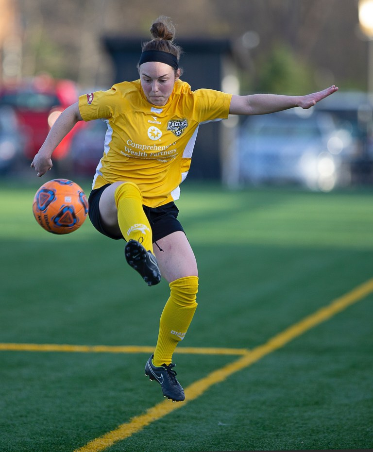 Eagles midfielder Christy Zwolski | Daniel Herlensky