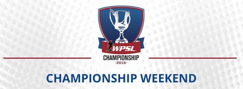 WPSL's Championship Weekend starts Friday, July 20, 2018 | WPSL