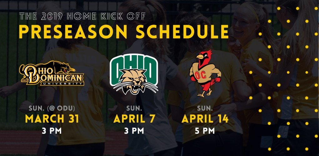 The Eagles play a 3-match preseason in 2019