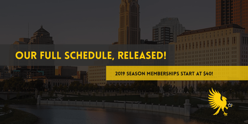 The Eagles' 2019 schedule has been released by the WPSL.