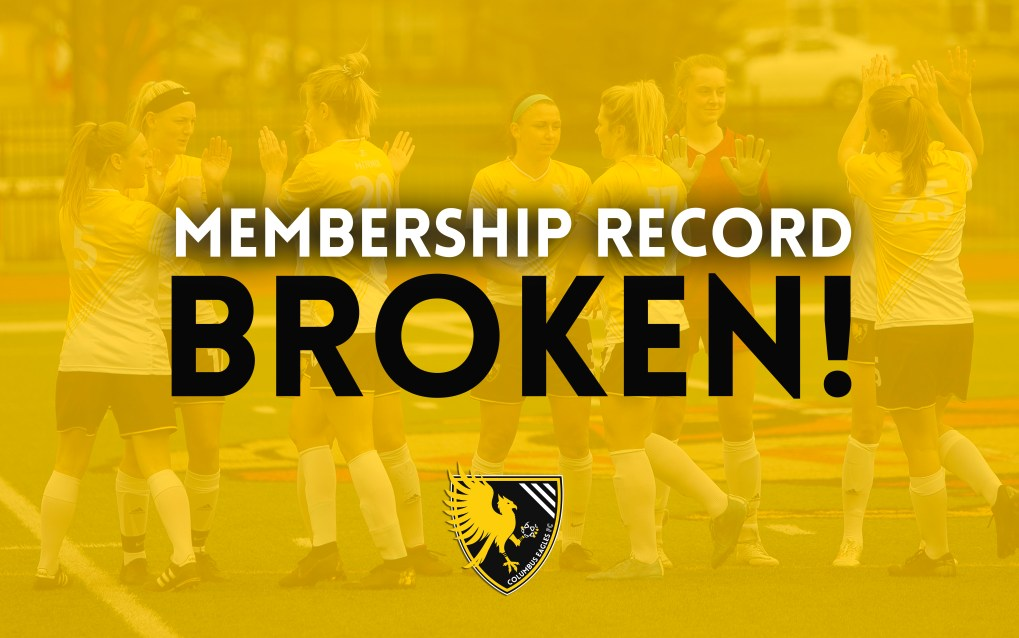 The Eagles broke their season membership record for the second consecutive year. | Daniel Herlensky