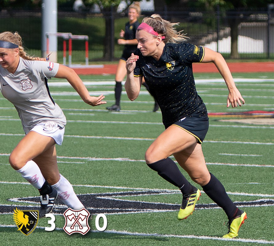 Madison Costner's two goals were enough to help the Eagles past Ann Arbor on June 30, 2019. |Daniel Herlensky