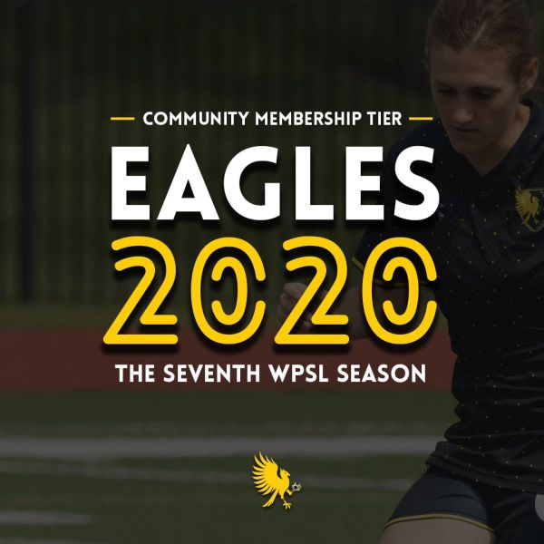 The Eagles' Community level membership for 2020 is $50