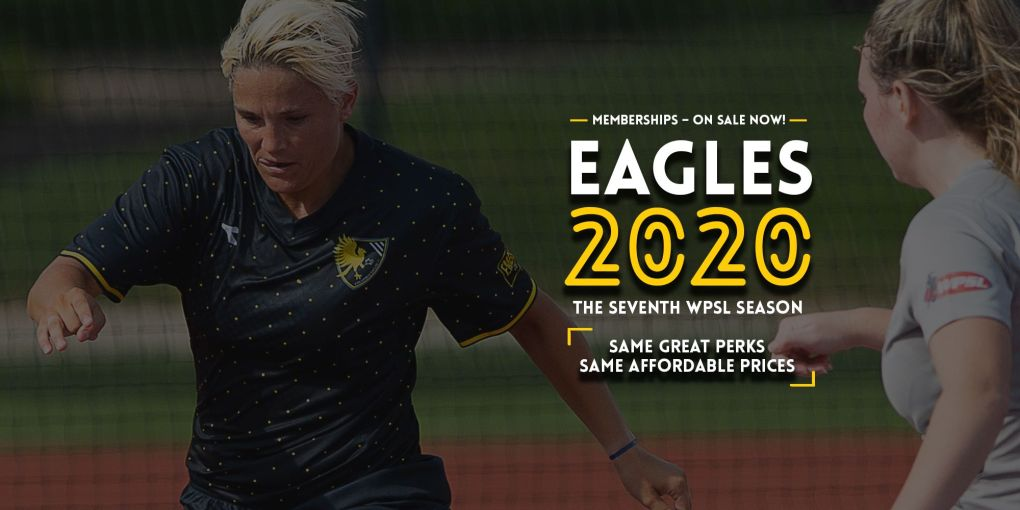 Dani Gunderson & the Eagles will be back in 2020 - get your membership now! | Daniel Herlensky